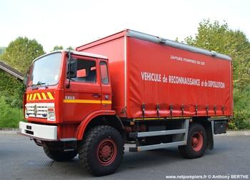 Véhicule de lutte contre la pollution, Sapeurs-pompiers, Lot