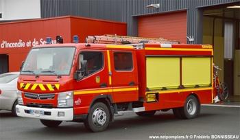 Fourgon d'incendie léger, Sapeurs-pompiers, Sarthe (72)