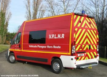 Véhicule de secours nautique, Sapeurs-pompiers, Rhône (69)