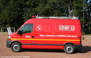 Véhicule pour interventions en milieu périlleux, Sapeurs-pompiers, Pas-de-Calais (62)