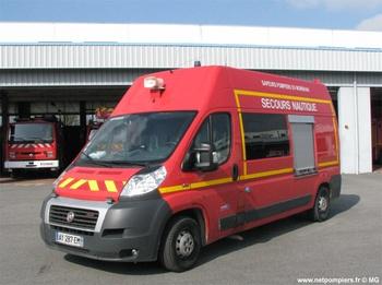 Véhicule de secours nautique, Sapeurs-pompiers, Morbihan