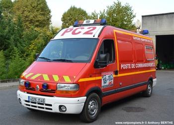 Véhicule poste de commandement, Sapeurs-pompiers, Lot (46)