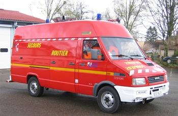 Véhicule de secours routier, Sapeurs-pompiers, Saône-et-Loire (71)