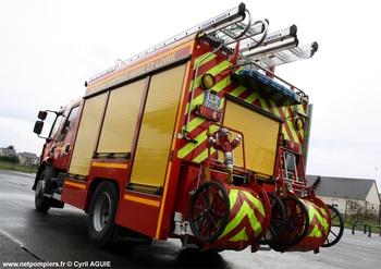 <h2>Fourgon-pompe tonne secours routier - Tours - Indre-et-Loire (37)</h2>