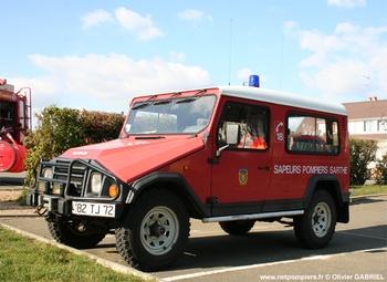 Véhicule de liaison, Sapeurs-pompiers, Sarthe (72)