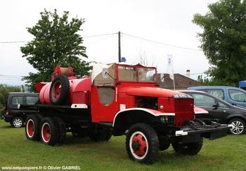 <h2>Camion-citerne pour feux de forêts - Mézos - Landes (40)</h2>