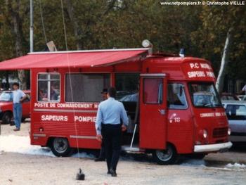 Véhicule poste de commandement, Sapeurs-pompiers, Gironde (33)