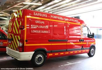 Véhicule d'exploration longue durée, Sapeurs-pompiers, Yvelines (78)