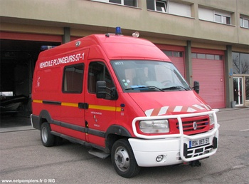 Véhicule de secours nautique, Sapeurs-pompiers, Moselle (57)