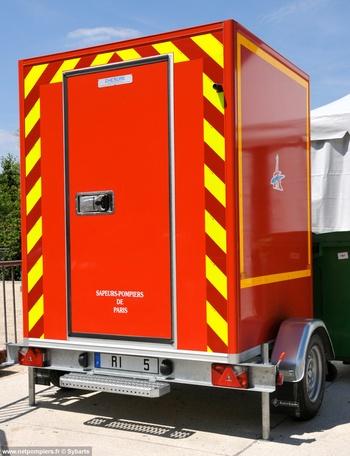Remorque isotherme, Sapeurs-pompiers de Paris,  ()