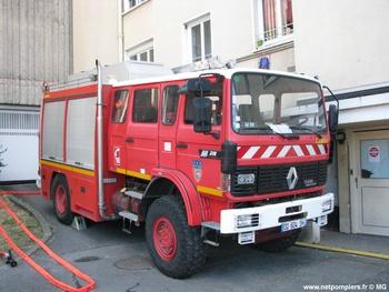 Fourgon-pompe tonne, Sapeurs-pompiers, Seine-et-Marne (77)