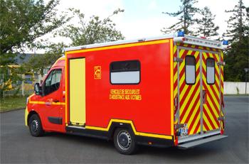 <h2>Véhicule de secours et d'assistance aux victimes - Nort-sur-Erdre - Loire-Atlantique (44)</h2>