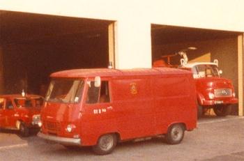 Véhicule de transport, Marins-pompiers de Marseille, Bouches-du-Rhône (13)