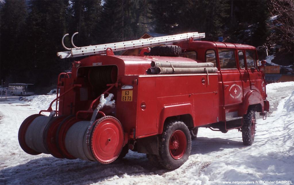 Fourgon-pompe tonne, Sapeurs-pompiers, Savoie (73)