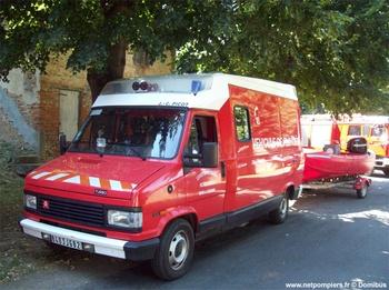 Véhicule de secours nautique, Sapeurs-pompiers, Tarn-et-Garonne (82)