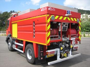 Camion-citerne de grande capacité, Sapeurs-pompiers, Haute-Corse (2B)