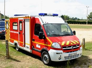 <h2>Véhicule de secours et d'assistance aux victimes - Branne - Gironde (33)</h2>