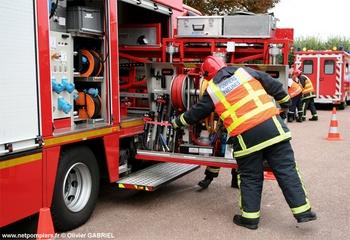 Véhicule de secours routier, Sapeurs-pompiers, Yvelines
