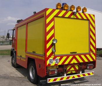 Véhicule de secours routier, Sapeurs-pompiers, Isère (38)