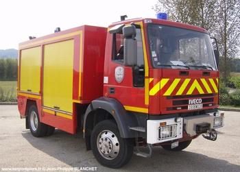 Véhicule de secours routier, Sapeurs-pompiers, Isère