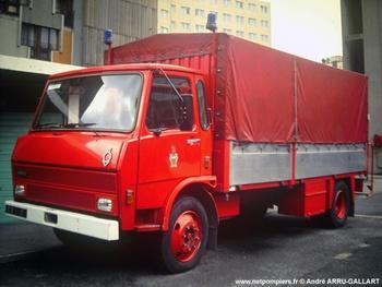 Camion d'accompagnement, Sapeurs-pompiers de Paris,  ()