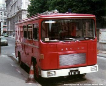 Fourgon-pompe mixte, Sapeurs-pompiers de Paris,  ()
