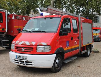 <h2>Véhicule de première intervention - Saint-Denis-en-Val - Loiret (45)</h2>
