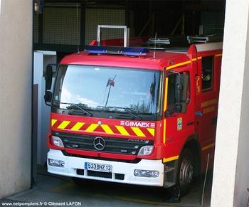Fourgon d'intervention, Marins-pompiers de Marseille, Bouches-du-Rhône (13)