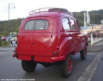 Véhicule de traction, Sapeurs-pompiers, Vendée (85)