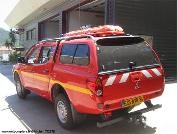 Véhicule pour interventions en milieu périlleux, Sapeurs-pompiers, Hérault