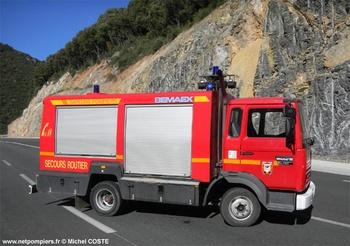 <h2>Véhicule de secours routier - Saint-Chinian - Hérault (34)</h2>