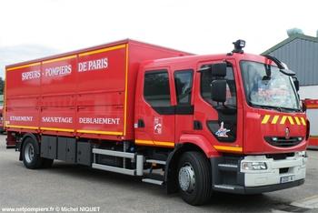 Camion d'étaiement et de sauvetage déblaiement, Sapeurs-pompiers de Paris,