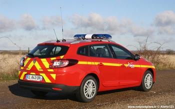 Véhicule de liaison, Sapeurs-pompiers, Eure-et-Loir (28)