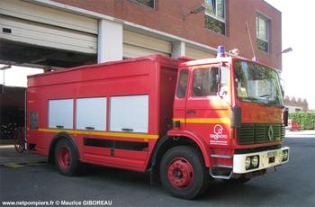Fourgon-pompe dévidoir de grande puissance, Sapeurs-pompiers, Nord (59)