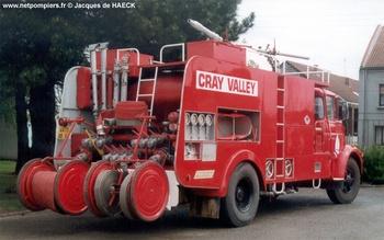 Véhicule mousse poudre, Service de sécurité incendie, Pas-de-Calais (62)
