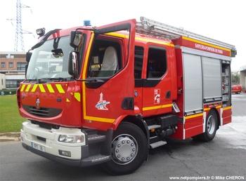 Fourgon-pompe tonne, Sapeurs-pompiers de Paris,