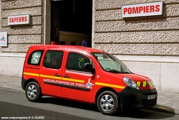 Véhicule de liaison, Sapeurs-pompiers,  ()