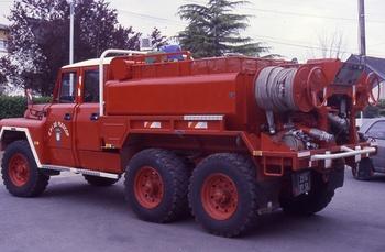 Camion-citerne pour feux de forêts, Sapeurs-pompiers, Morbihan (56)