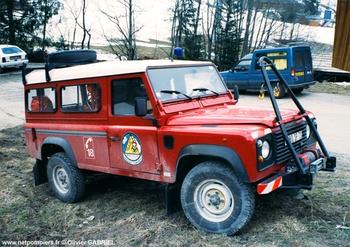 Véhicule de secours en montagne, Sapeurs-pompiers, Savoie (73)