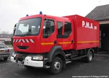 Véhicule poste médical avancé, Sapeurs-pompiers, Ardennes (08)