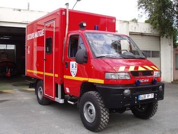 Véhicule de secours nautique, Sapeurs-pompiers, Charente-Maritime