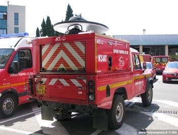 Véhicule satellite, Sapeurs-pompiers, Var (83)