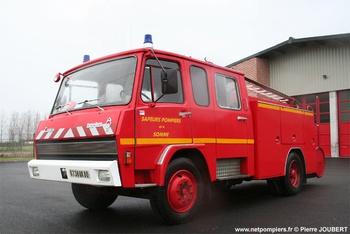 Fourgon-pompe tonne, Sapeurs-pompiers, Somme