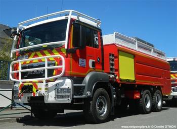 <h2>Camion-citerne pour feux de forêts - Sancoins - Cher (18)</h2>