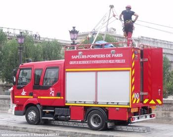 Véhicule pour interventions en milieu périlleux, Sapeurs-pompiers de Paris,  ()