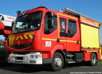 Fourgon-pompe tonne léger, Sapeurs-pompiers, Cher (18)