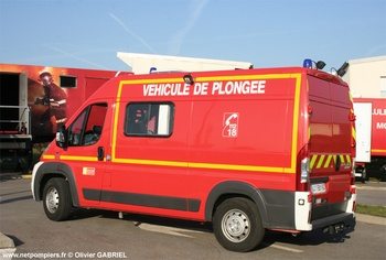 Véhicule de secours nautique, Sapeurs-pompiers, Oise (60)