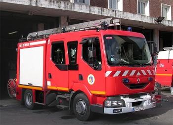 Fourgon-pompe tonne léger, Sapeurs-pompiers, Somme (80)