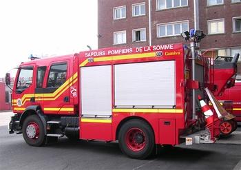 Véhicule de secours routier, Sapeurs-pompiers, Somme (80)