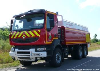 Camion-citerne de grande capacité, Sapeurs-pompiers, Vosges (88)
